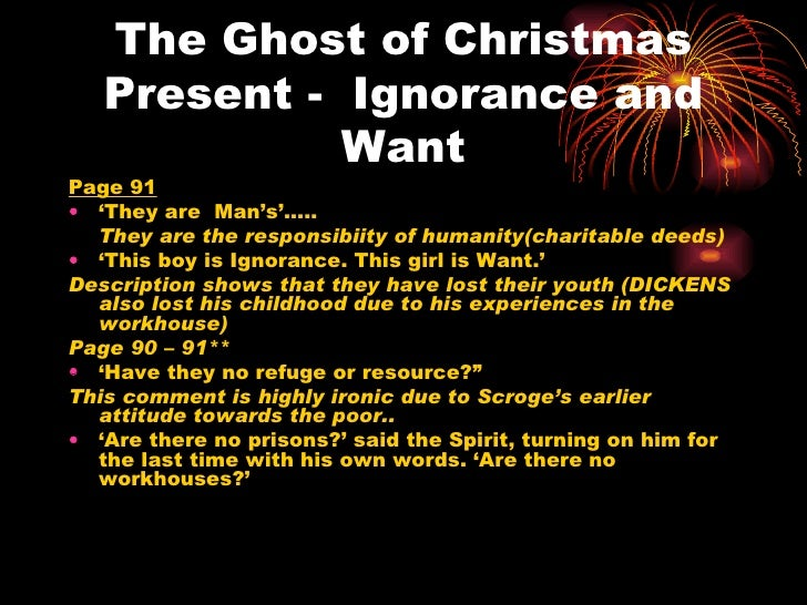 the ghost of christmas essay