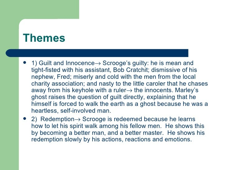 themes - What Is The Theme Of A Christmas Carol