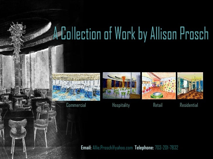 A Collection of Work by Allison Prosch Slide 2