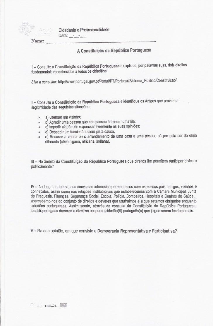 Cidadania Profissionalidade                             e       .'                            _-_-_                    Dat...