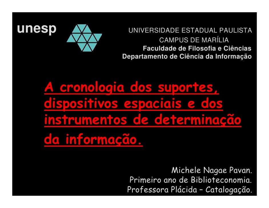 unesp          UNIVERSIDADE ESTADUAL PAULISTA                         CAMPUS DE MARÍLIA                     Faculdade de F...
