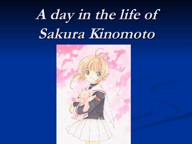 A day in the life of Sakura Kinomoto