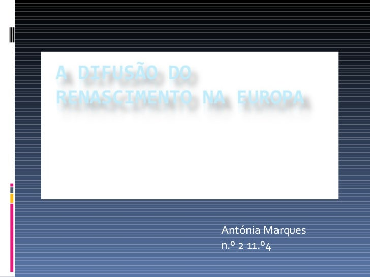 Antónia Marques n.º 2 11.º4