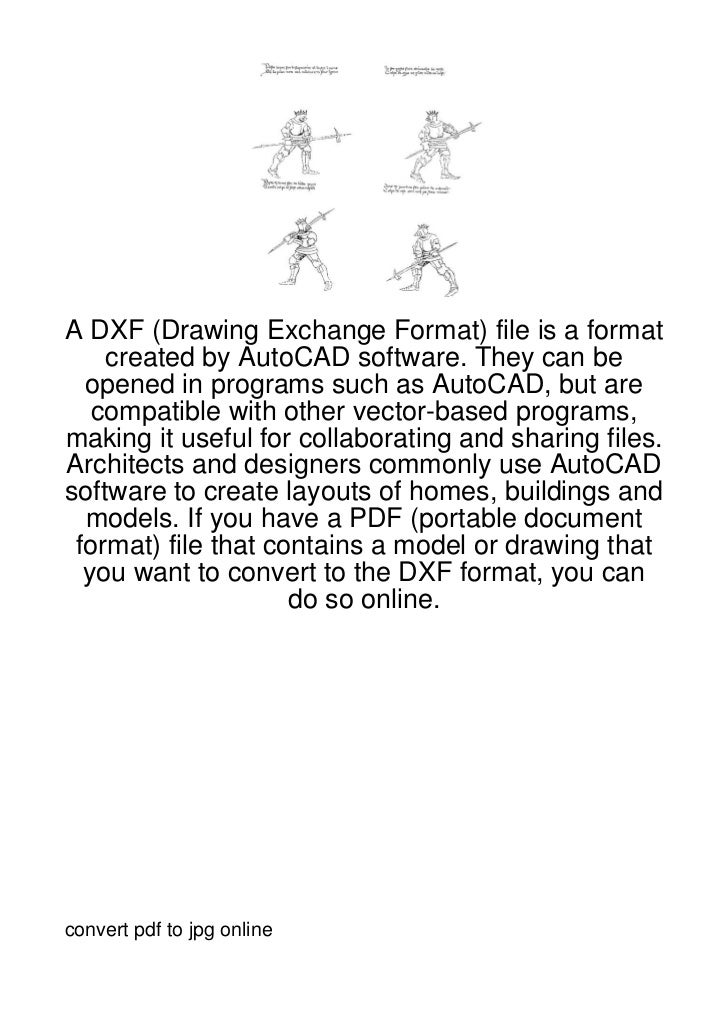 A DXF (Drawing Exchange Format) file is a format    created by AutoCAD software. They can be  opened in programs such as A...