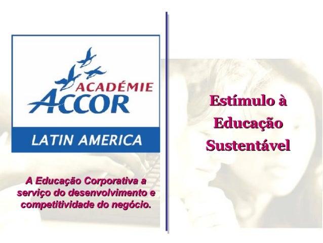 A EducaçãO Corporativa A ServiçO Do Desenvolvimento E Competitividade Do NegóCio