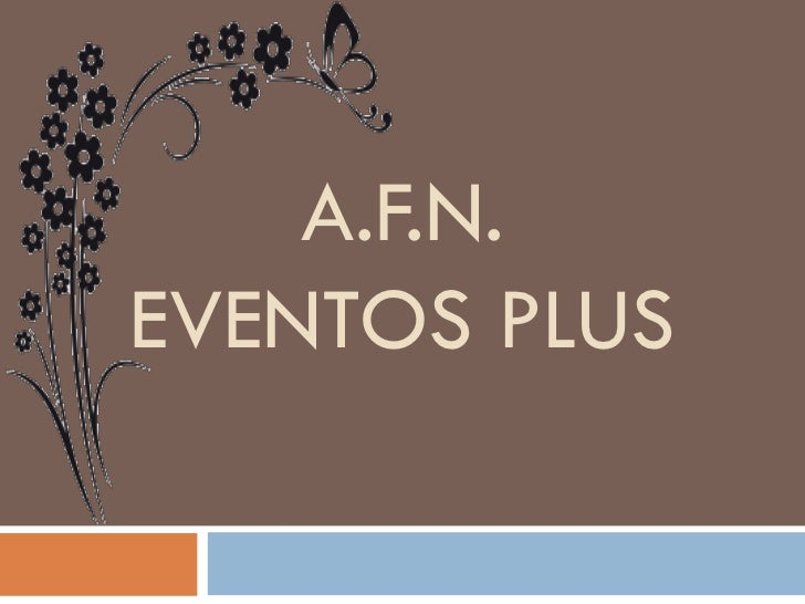 A.F.N.EVENTOS PLUS