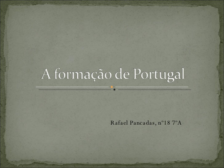 Rafael Pancadas, nº18 7ºA