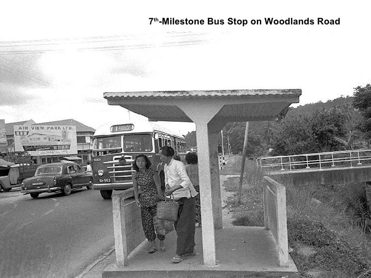 7 th -Milestone Bus Stop on Woodlands Road
