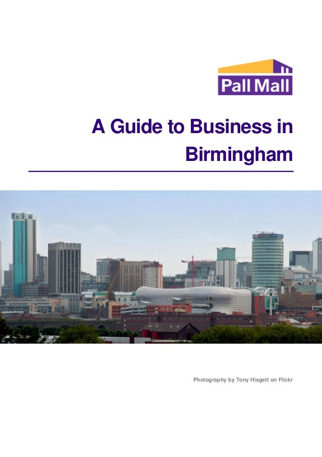 A Guide to Business in Birmingham Photography by Tony Hisgett on Flickr
