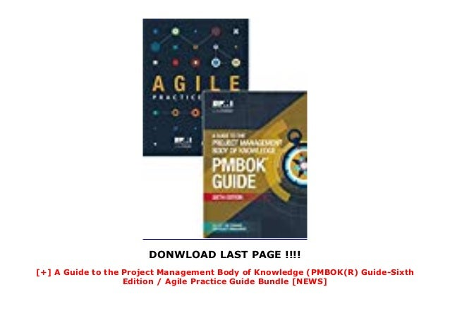 DONWLOAD LAST PAGE !!!! [+] A Guide to the Project Management Body of Knowledge (PMBOK(R) Guide-Sixth Edition / Agile Prac...