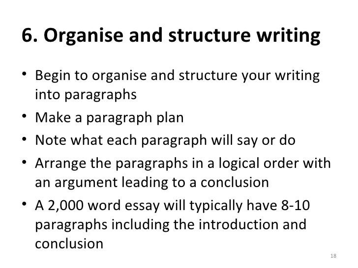 Writing essay guide