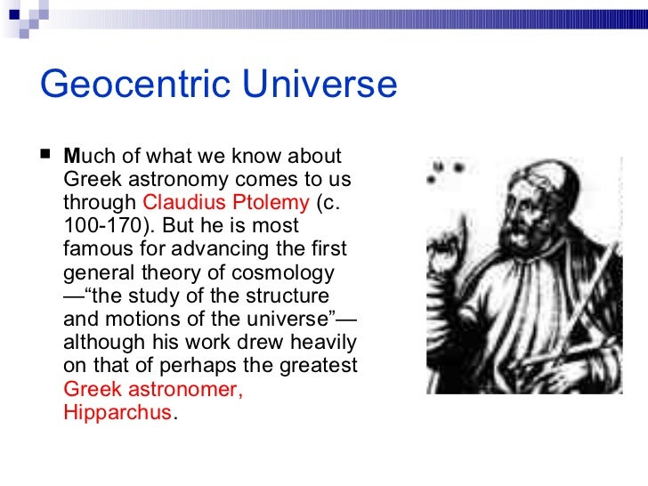 Claudius Ptolemy (article) | 2. The Big Bang | Khan Academy