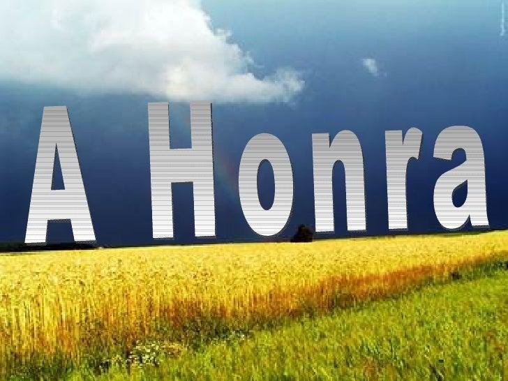A Honra