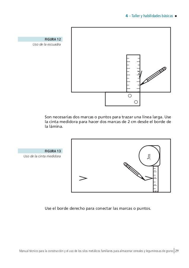 Manual técnico para la construcción y el uso de los silos metálicos f…