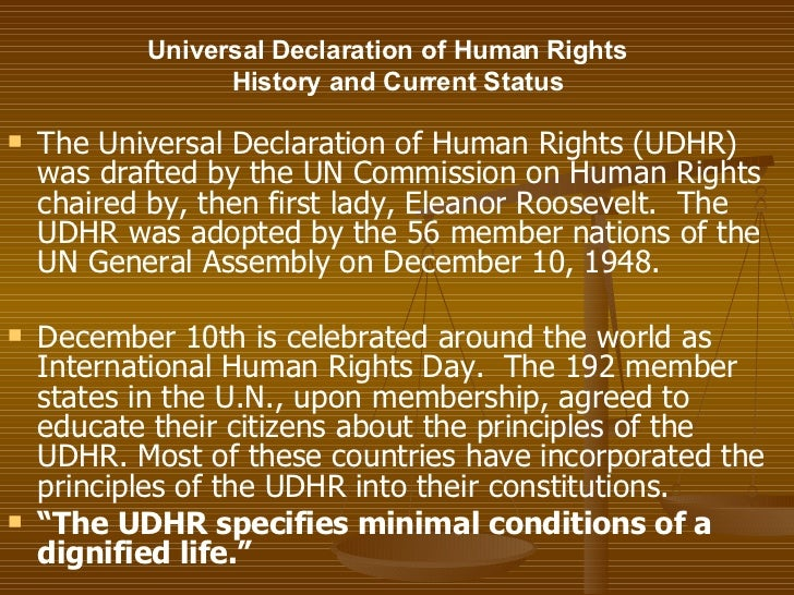 an introduction to human rights  18 universal declaration of human rights