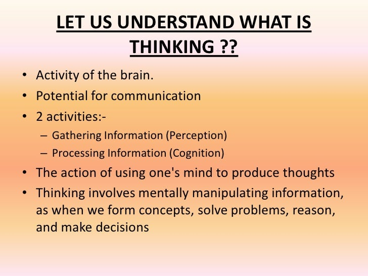 1 introduction what is critical thinking An introduction to critical thinking by steven d schafersman january, 1991 introduction to critical thinking critical thinking is an.