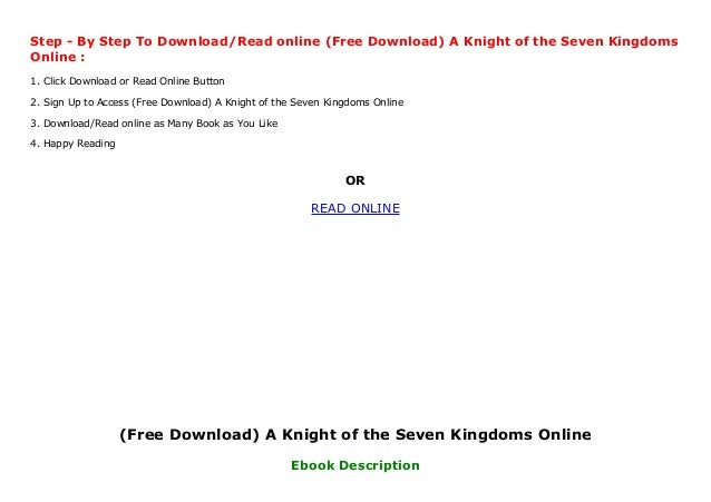 a knight of the seven kingdoms online free