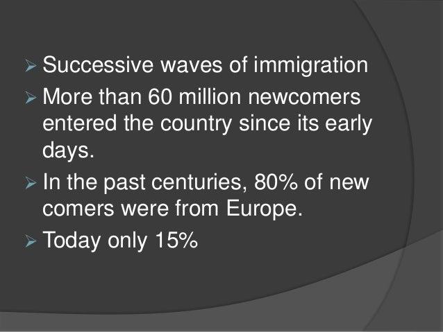 A land of immigrants  Slide 3