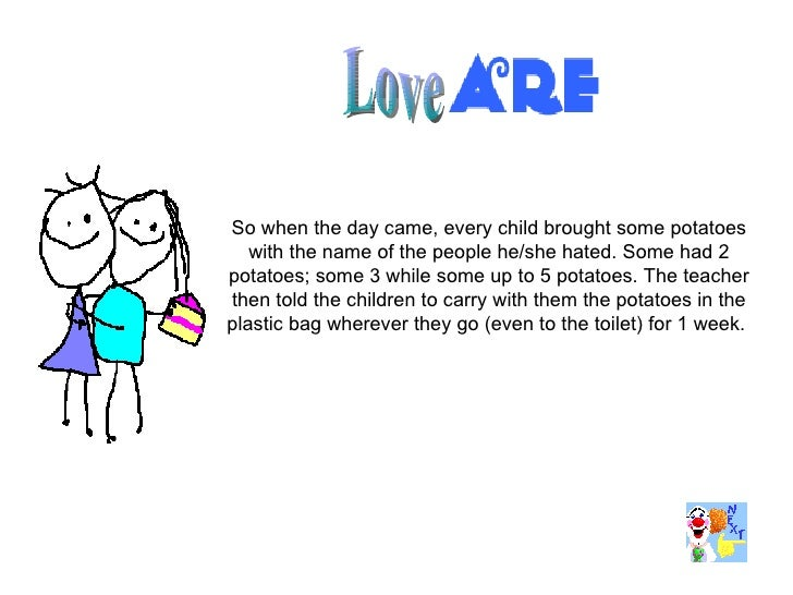 A Lesson On Love For Children