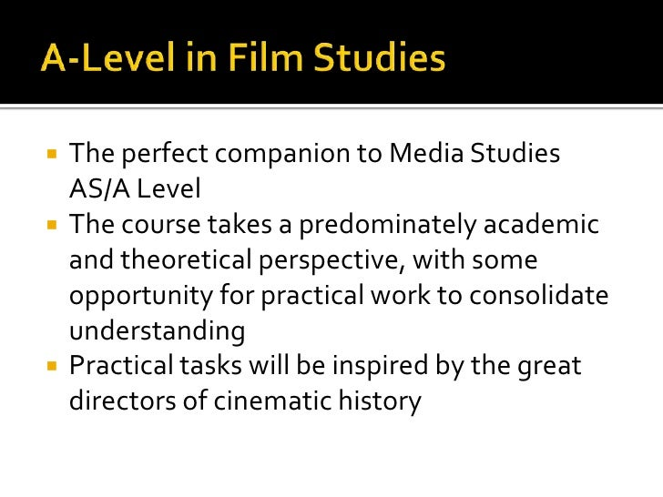Practical Production Media Studies Gcse