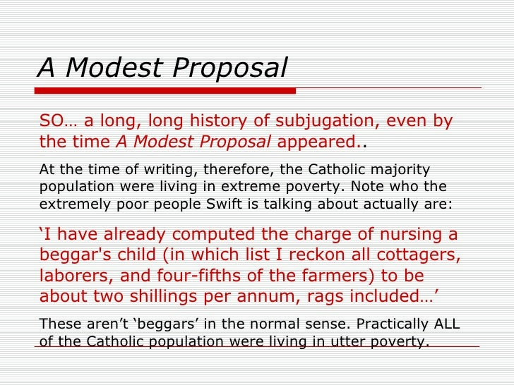 modest proposal 5 A modest proposal, page 5: read a modest proposal, by author jonathan swift page by page, now free, online.
