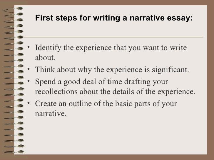 descriptive narrative essay example