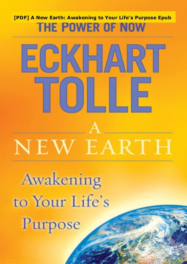 eckhart tolle a new earth pdf free