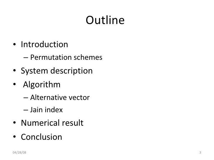 A Novel Channel Allocation And Scheduling Algorithm In Slide 3