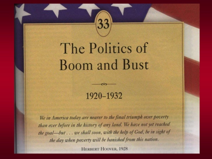 THE GREAT CRASH ENDS the GOLDEN TWENTIESWhen Hoover became president there were not any obvious indications that the boomi...