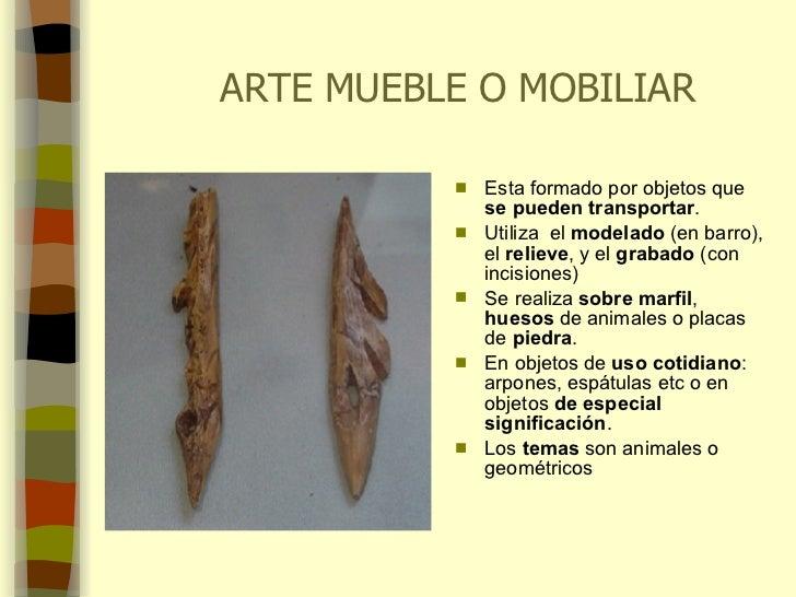 Arte paleolitico for Q es arte mobiliar