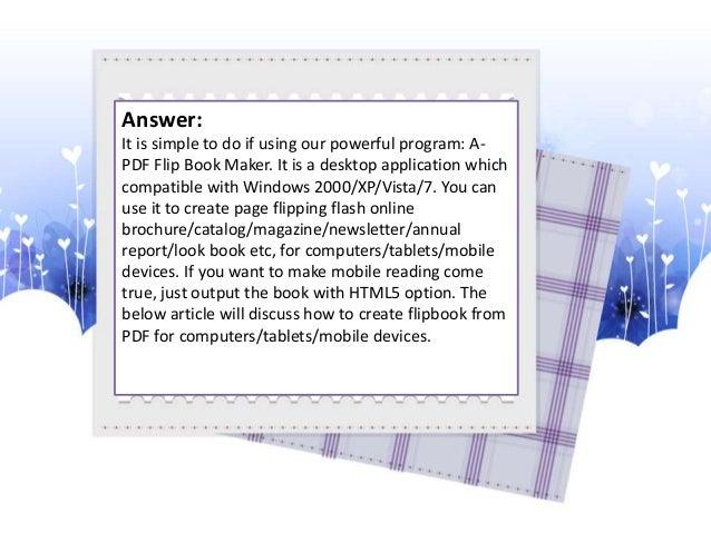 pdf to html5 flipbook open source