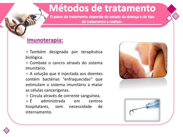 """Efeitos secundários:                              Doença do enxerto versus o                              hospedeiro"""" ( GV..."""
