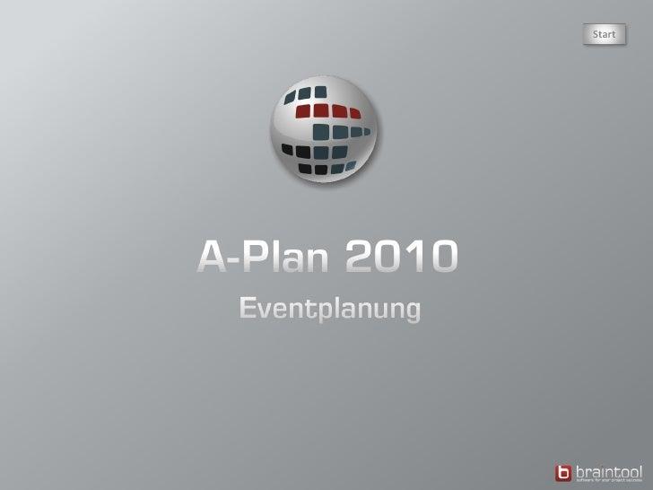 Planungs-Übersicht  von 5 Zusätzliche  Informationen . Planung beliebig vieler Events in unterschiedlichen  Ordnern: Termi...