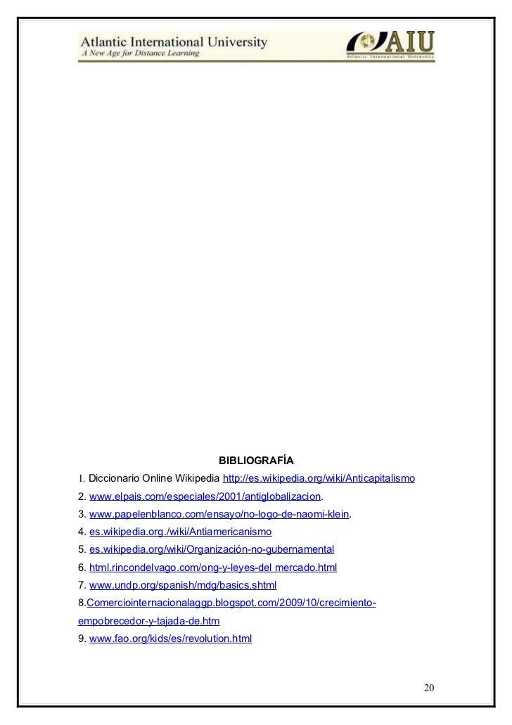 International development essay