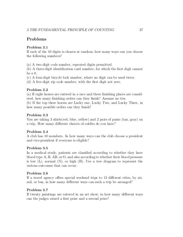Principle Worksheet Delibertad – Fundamental Counting Principle Worksheet