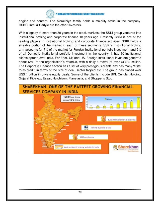 A project-report-on-trading-amp-stock-brokers-of-sharekhan