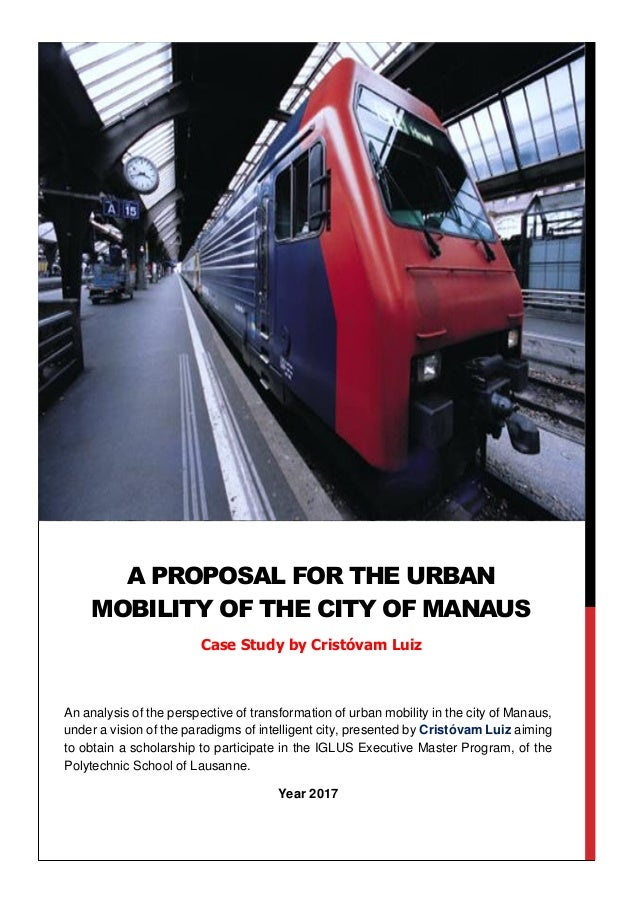 An analysis of the perspective of transformation of urban mobility in the city of Manaus, under a vision of the paradigms ...