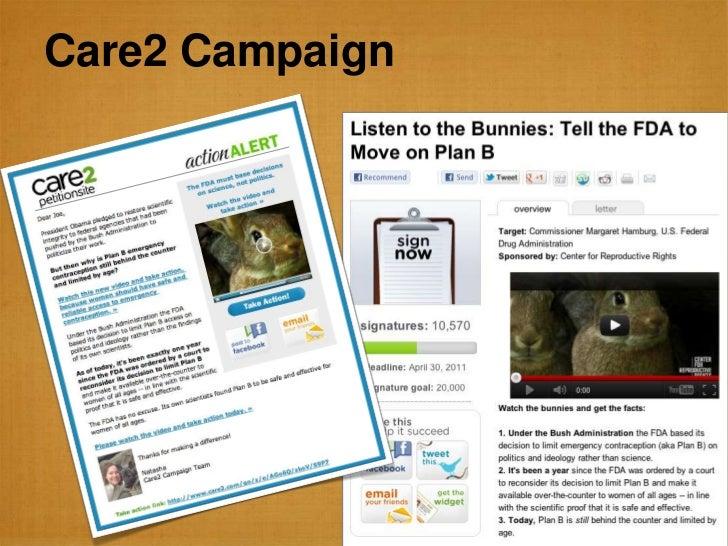 Care2 Campaign