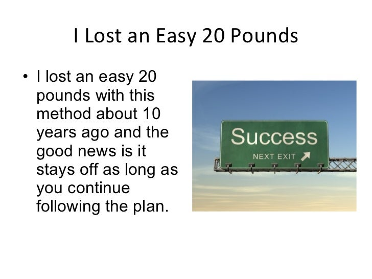 how to lose weight 20 pounds