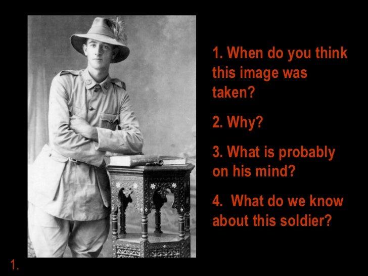A Soldier's Life Slide 2