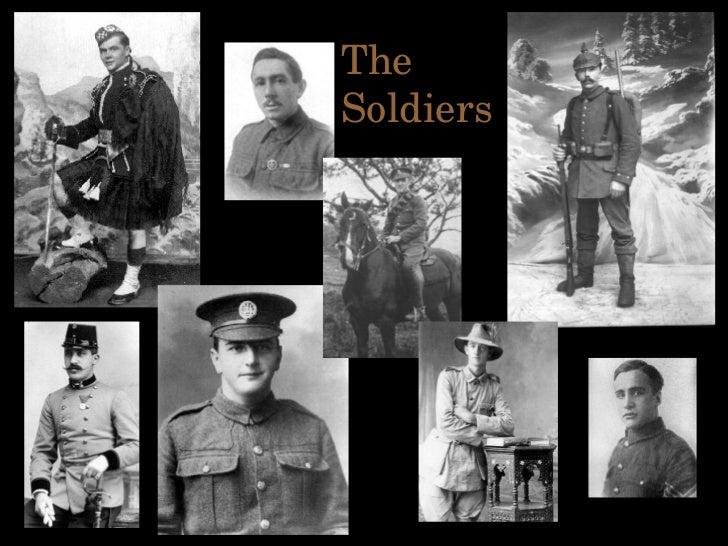 A Soldier's Life Slide 3