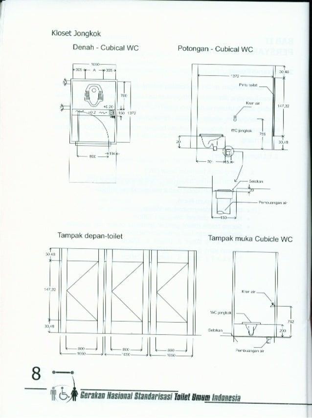 73+ Gambar Denah Toilet Umum Paling Baru