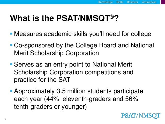a step to the future prepare for the psat nmsqt
