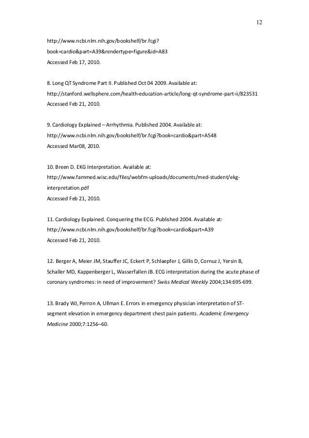 http://www.ncbi.nlm.nih.gov/bookshelf/br.fcgi? book=cardio&part=A39&rendertype=figure&id=A83 Accessed Feb 17, 2010. 8. Lon...