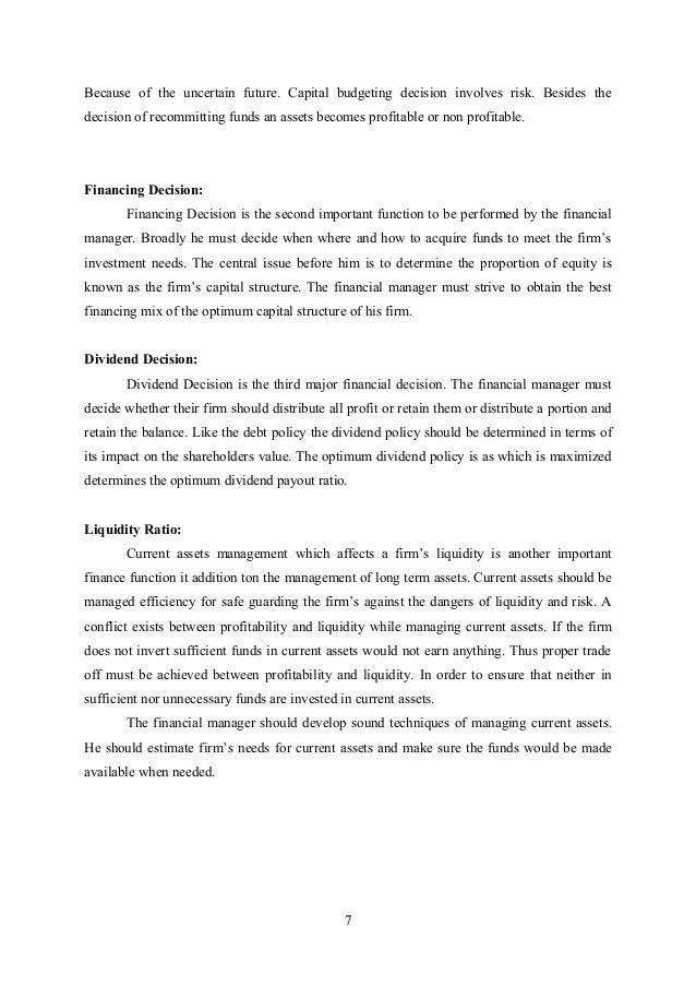 Capital budgeting case studies