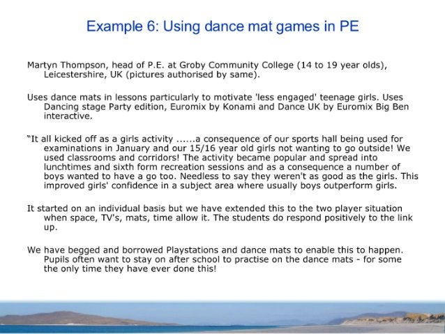 A survey of COTS games used in education