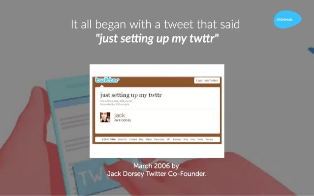 A #TBT in Twitter History Slide 2