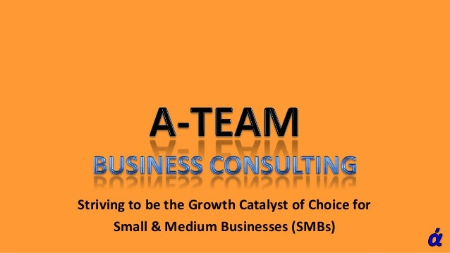 Striving to be the Growth Catalyst of Choice for Small & Medium Businesses (SMBs)