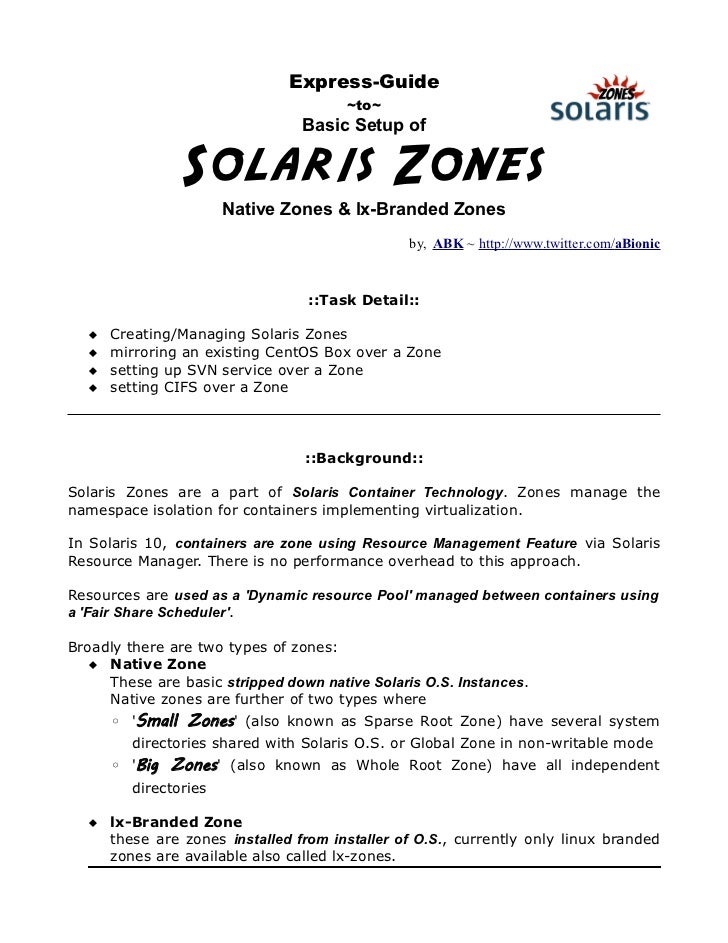 Express-Guide                                       ~to~                                 Basic Setup of                Sol...