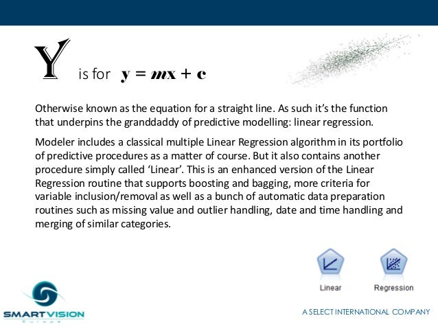 the a to z of analytics with ibm spss modeler
